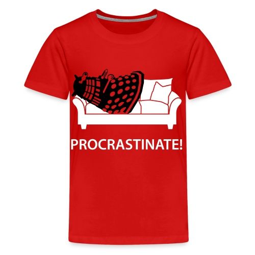 Dalek Procrastinate - Kids' Premium T-Shirt