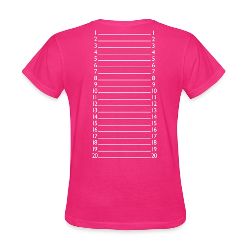Basic Length Check T-Shirt - Women's T-Shirt