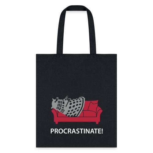 Dalek Procrastinate - Tote Bag
