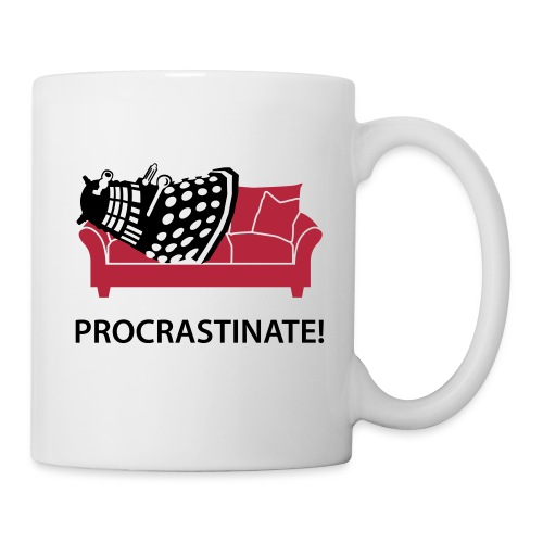 Dalek Procrastinate - Coffee/Tea Mug