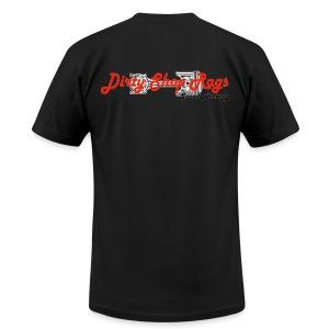 DSR Black Classic - Men's Fine Jersey T-Shirt