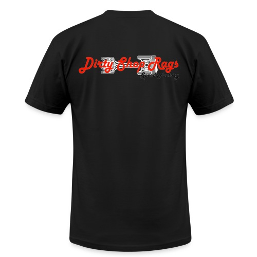 DSR Black Classic - Men's Fine Jersey T-Shirt