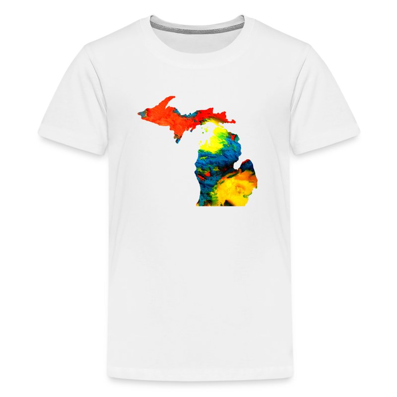 Michigan superman ice cream t shirt spreadshirt for Make your own superman shirt