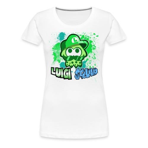 LuigiSquid T-Shirt Women - Women's Premium T-Shirt