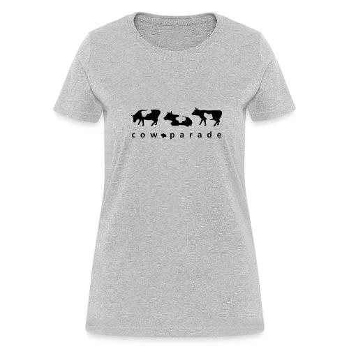 Women's Relaxed Fit T-Shirt (Black Logo) - Women's T-Shirt