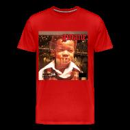 T-Shirts ~ Men's Premium T-Shirt ~ GMANE AmeriKKKa Eats the Young tee red
