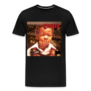 GMANE AmeriKKKa Eats the Young tee blk - Men's Premium T-Shirt