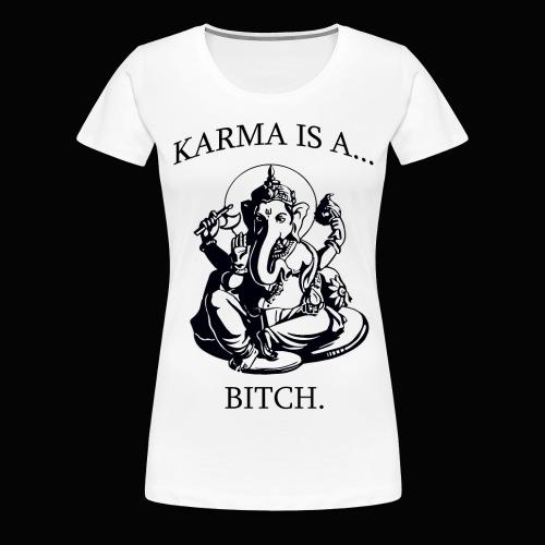 Karma T-Shirt - Women's Premium T-Shirt