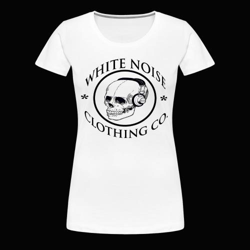 White Noise T-Shirt - Women's Premium T-Shirt