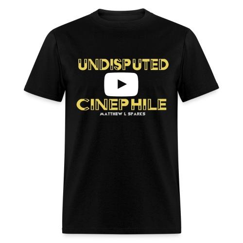 Matthew L Sparks Undisputed Cinephile Authentic T-Shirt - Men's T-Shirt