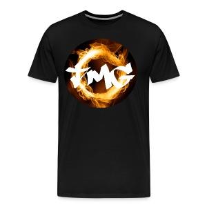 Large TMG with writing - Men's Premium T-Shirt