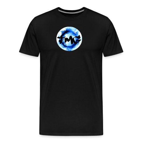 Small Inverted TMG with writing - Men's Premium T-Shirt