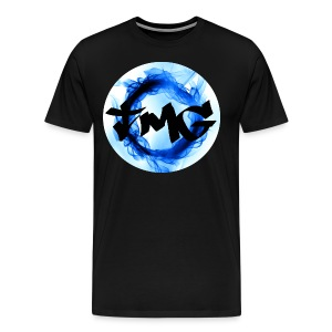Large Inverted TMG with writing - Men's Premium T-Shirt