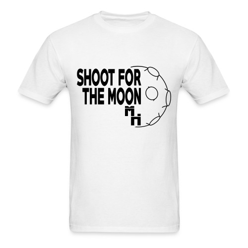 Shoot For The Moon Black - Men's T-Shirt