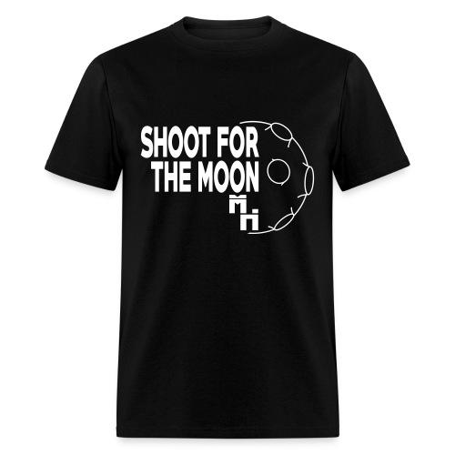 Shoot For The Moon White - Men's T-Shirt