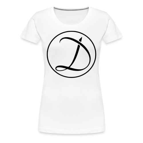 Dreamed With Ink Logo - Women's Premium T-Shirt