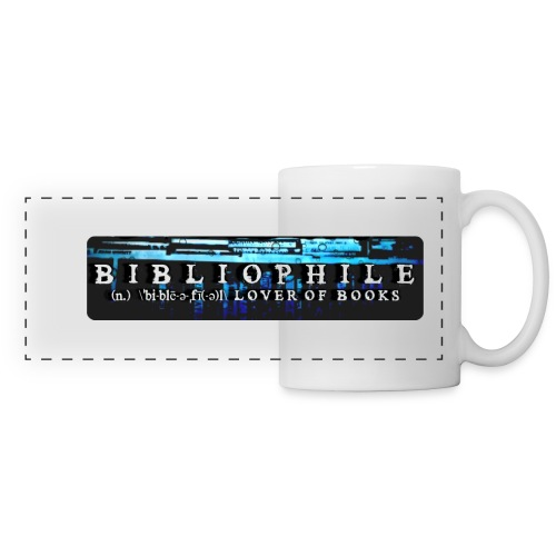 Bibliophile Book Lover  Mug - Panoramic Mug