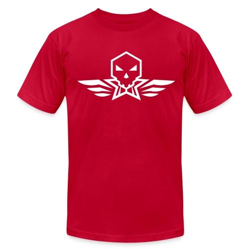 Skullington White - Men's  Jersey T-Shirt