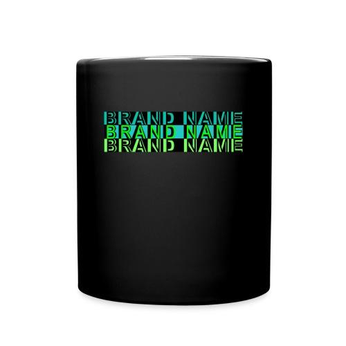 Brand Name Mug (black) - Full Color Mug