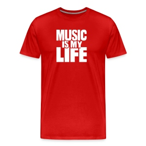 Makaih Beats Music is my Life Tee - Men's Premium T-Shirt