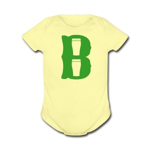 Boston Pint o' B - Short Sleeve Baby Bodysuit
