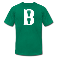 T-Shirts ~ Men's T-Shirt by American Apparel ~ Boston Pint o' B