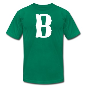Boston Pint o' B - Men's T-Shirt by American Apparel