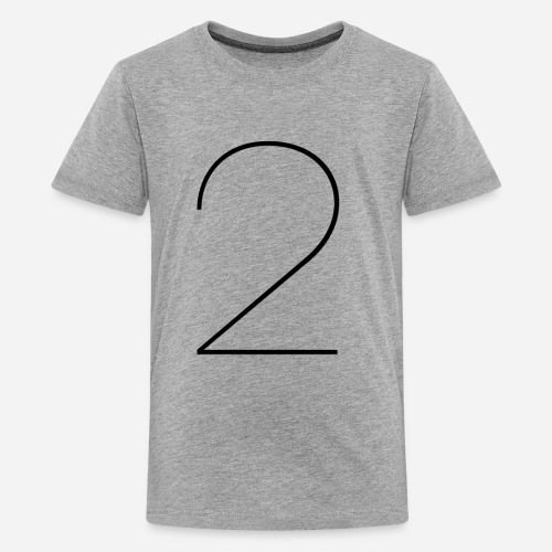 two - Kids' Premium T-Shirt