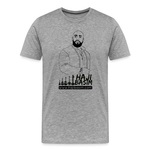 Haji Basim Men's Premium T - Men's Premium T-Shirt