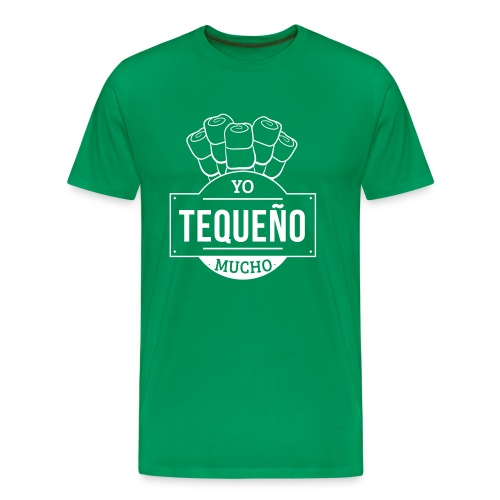 Tequeño Mucho Guys Shirt - Green - Men's Premium T-Shirt
