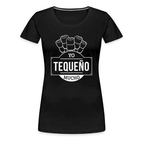 Tequeño Mucho Girl Shirt - Black - Women's Premium T-Shirt