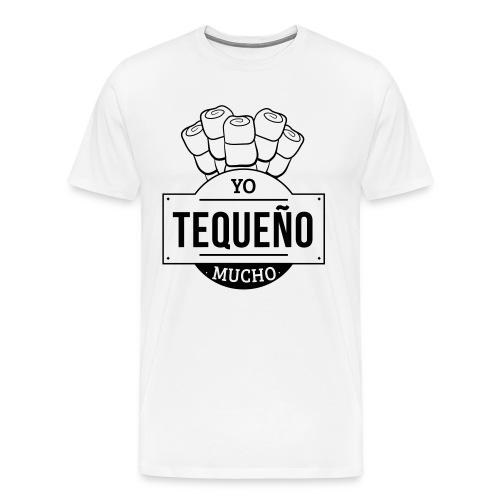 Tequeño Mucho T-Shirt - White - Men's Premium T-Shirt