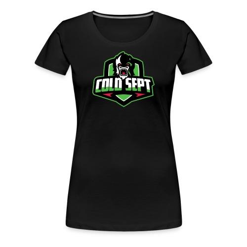 Cold Sept logo tee - women's - Women's Premium T-Shirt