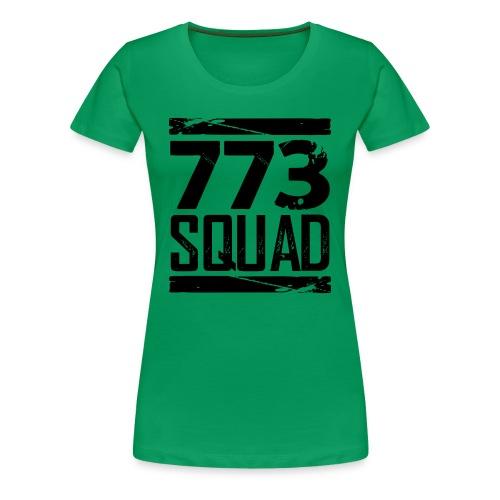 773 Squad Women's Premium T-Shirt (Green) - Women's Premium T-Shirt