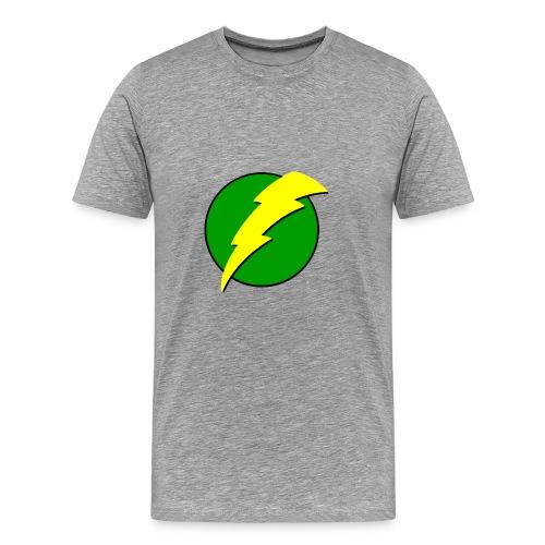 men's voltage green - Men's Premium T-Shirt