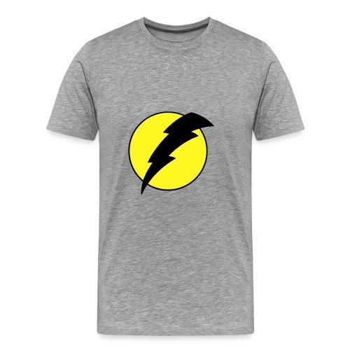 men's voltage yellow - Men's Premium T-Shirt