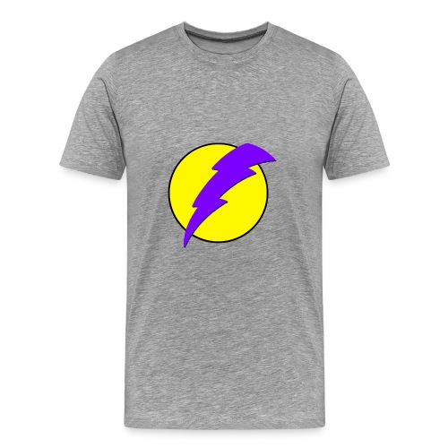 men's voltage yellow - Men's Premium T-Shirt
