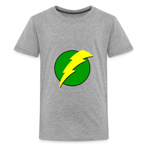 kid's voltage green - Kids' Premium T-Shirt