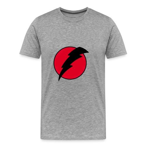men's voltage red - Men's Premium T-Shirt