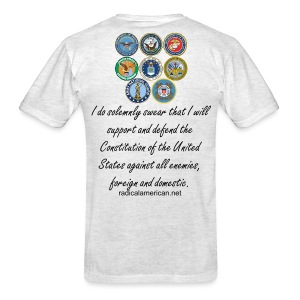 Radical American: Military Oath - Men's T-Shirt