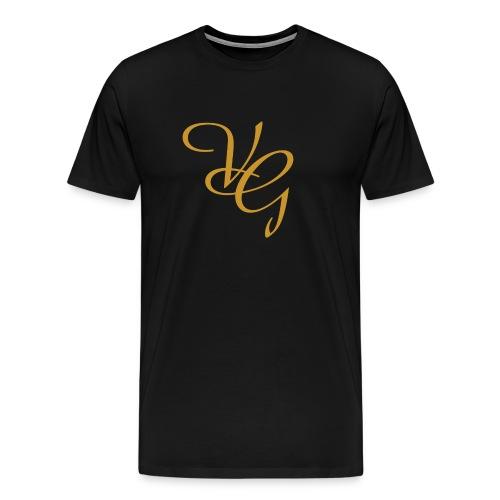 Black Premium Vintage Tee - Men's Premium T-Shirt