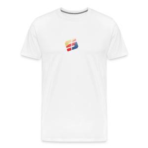 Spartan White Tee - Men's Premium T-Shirt