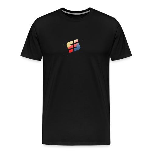 Spartan Black Tee - Men's Premium T-Shirt