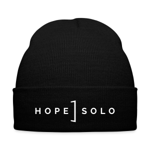 Hope Logo Beanie - Knit Cap with Cuff Print