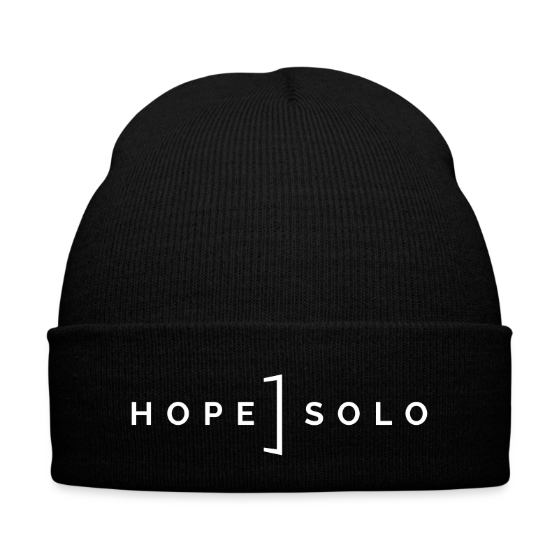 Hope Logo Beanie - Knit Cap with Cuff Print