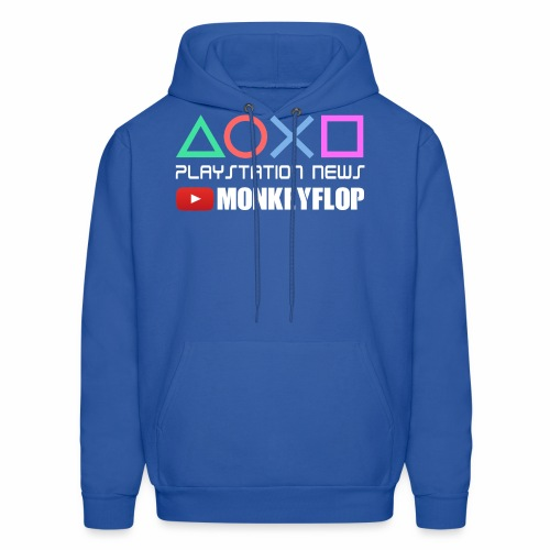 PlayStation News MonkeyFlop Blue Sweater  - Men's Hoodie