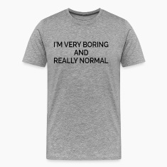 Boring and Really Normal T-Shirts