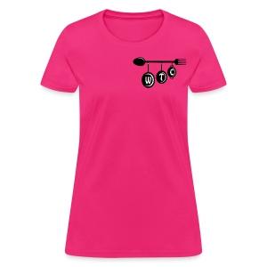 Women's Pink T-Shirt - Women's T-Shirt