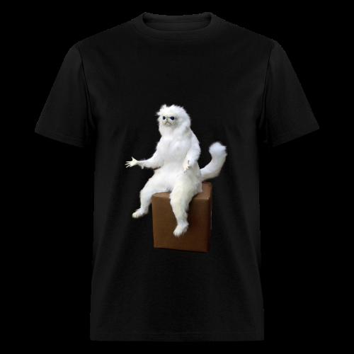 Persian Cat Meme Tee - Men's T-Shirt