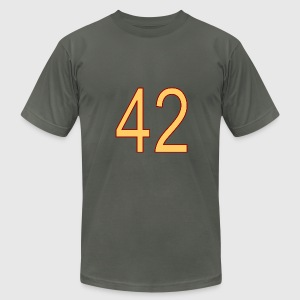 42 - Men's T-Shirt by American Apparel